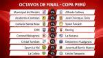 Copa Perú: estas son las llaves de octavos de final del 'fútbol macho' - Noticias de kimbiri