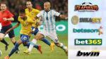 Argentina vs. Brasil: ¿cuánto pagan las casas de apuestas por este partidazo?
