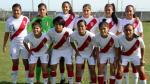 Sudamericano Femenino Sub-20: Perú quedó listo para su debut en el torneo - Noticias de marta tejedor