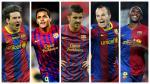 Estos jugadores formaron parte de los mejores tridentes que tuvo el Barcelona.