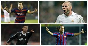 Cristiano Ronaldo y Lionel Messi en el equipo UEFA del siglo XXI (Difusión).