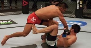 Enrique Barzola confirmó que peleará en la categoría peso pluma de la UFC. (Getty)