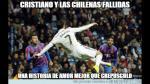 Cristiano Ronaldo falló gol de chalaca y los memes abundan en las redes (FOTOS) - Noticias de chalaca