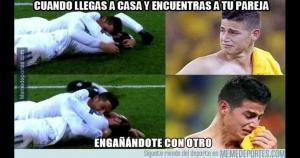 Cristiano Ronaldo y Gareth Bale fueron los protagonistas de los memes.