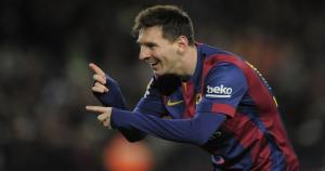 Lionel Messi, regresó luego de tres fechas y la rompió ante la Roma. (Difusión)