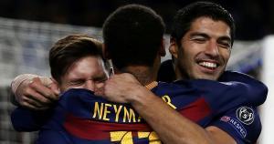Lionel Messi forma el mejor tridente del mundo junto a Neymar y Luis Suárez. (AFP)