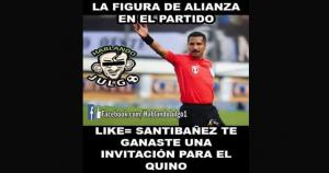Los celestes acusaron al árbitro de favorecer a Alianza Lima.