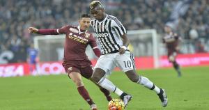 Paul Pogba debutó en el United en 2011, pero las pocas chances lo hicieron mirar afuera. Al año, llegó gratis a la Juve (AP).