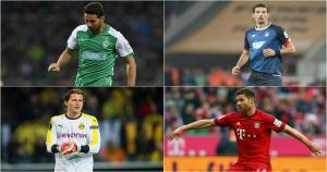 Claudio Pizarro fue elegido como el 'jugador revelación de la Bundesliga' en el año 200 (Getty Images).