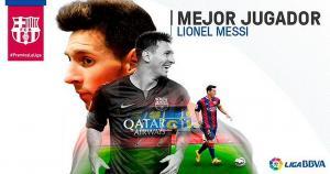 Lionel Messi ganó dos premios en la gala de la Liga BBVA (Difusión).
