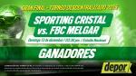 Sporting Cristal vs. Melgar: estos son los ganadores de las entradas dobles - Noticias de magdalena del mar