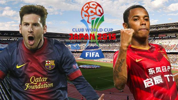 Barcelona vs Guangzhou Evergrande