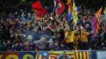 Barcelona vs. River Plate: las hinchadas armaron la fiesta en la final