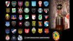 Copa Libertadores 2016: salieron los rivales de Cristal, Melgar y Vallejo - Noticias de colo colo vs santa fe