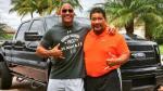 WWE: The Rock premió con esta 'mioncaza' a la persona que lo ayudó a iniciarse en la lucha - Noticias de volleyball