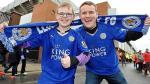 Facebook: hincha del Leicester City da la hora con inscripción en su camiseta - Noticias de arsenal vs colonia