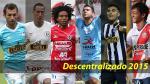 Descentralizado 2015: ¿quién fue el mejor jugador extranjero de la temporada? - Noticias de hugo souza