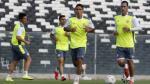 Universitario vs. Colo Colo: cremas entrenaron en Santiago y Chale ya tiene el equipo - Noticias de christopher gonzales
