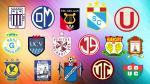 Descentralizado 2016: conoce el fixture del campeonato peruano - Noticias de johnny ayala