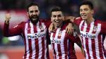 Atlético de Madrid ganó 3-0 a Las Palmas y sigue de líder en la Liga BBVA - Noticias de javi lopez