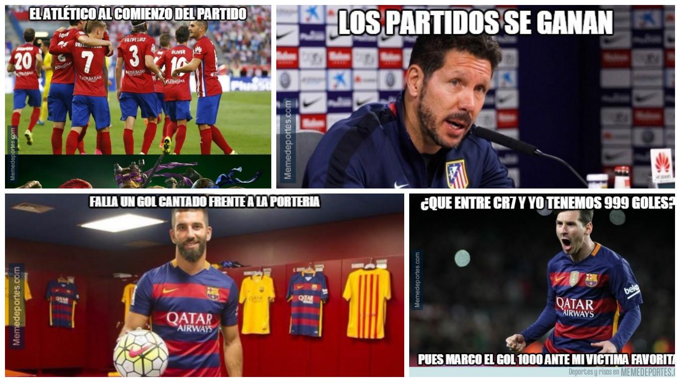 Barcelona Vs Atlético De Madrid Estos Son Los Mejores Memes Del Partido Foto 1 De 8 Depor Com
