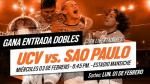 César Vallejo vs. Sao Paulo: 'checa' si ganaste tu entrada doble para la Libertadores - Noticias de juan josé tirado