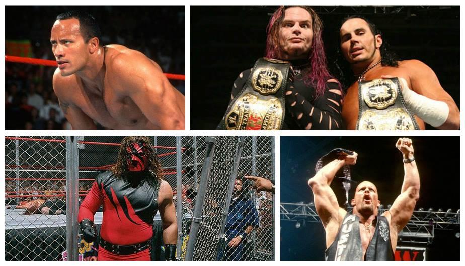 La Era Attitude duró de 1997 al 2002. Algunos dicen que fue la mejor época de la WWE. (WWE)