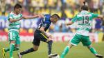 América venció 2-0 al Santos Laguna en el estadio Azteca por la Liga MX - Noticias de osvaldo andrade