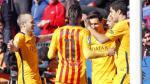 Barcelona ganó 2-0 a Levante y es el único líder de la Liga BBVA - Noticias de francesc lopez