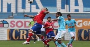 El paraguayo Cristian Bogado la rompió con Unión Comercio en 2014. Convirtió 19 goles en el año. (USI)