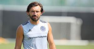 Andrea Pirlo no ha jugado por la Premier League (Getty Images).