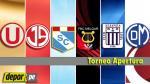 Torneo Apertura: programación de la fecha 2 del campeonato - Noticias de arequipa