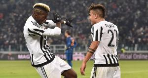 Paul Pogba y Paulo Dybala son dos de las figura de Juventus (Getty Images).