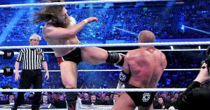 Daniel Bryan vs. Triple H en Wrestlemania 30. (WWE)
