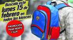 Barcelona: ¡Atención Norte y Sur! Depor te regala la mochila de los azulgranas - Noticias de noche crema 2016