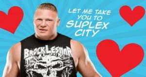 Las superestrellas de la WWE no dudaron en celebrar la llegada del día del amor y la amistad. (WWE)