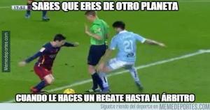 Barcelona le ganó al Celta de Vigo (Meme Deportes).
