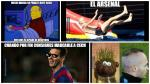 Barcelona vs. Arsenal: mira los mejores memes que dejó la victoria 'culé' - Noticias de peter cech
