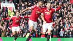 Manchester United venció 3-2 al Arsenal y lo aleja del título de la Premier - Noticias de mezut ozil