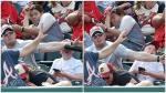 YouTube: fanático de la MLB salvó de morir a niño al evadir un bate
