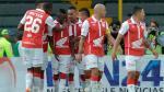 Independiente Santa Fe derrotó 3-0 por Copa Libertadores al Cobresal de Chile - Noticias de jonathan sepulveda
