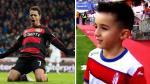 Ni Cristiano ni Messi: niño quiere ser como 'Chicharito' Hernández (VIDEO)