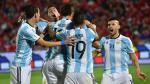 Argentina ganó 2-1 a Chile de visita por Eliminatorias Rusia 2018