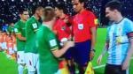 Bolivia pasó vergonzoso momento en Córdoba durante el himno de Argentina