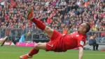 Bayern Munich: Ribéry marcó espectacular golazo de tijera al Frankfurt - Noticias de borussia dortmund vs eintracht frankfurt