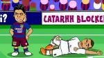Barcelona vs. Real Madrid: genial parodia animada del Clásico español - Noticias de maxi lopez