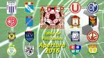 Torneo Apertura: así marcha la tabla de posiciones tras el clásico - Noticias de partido postergado