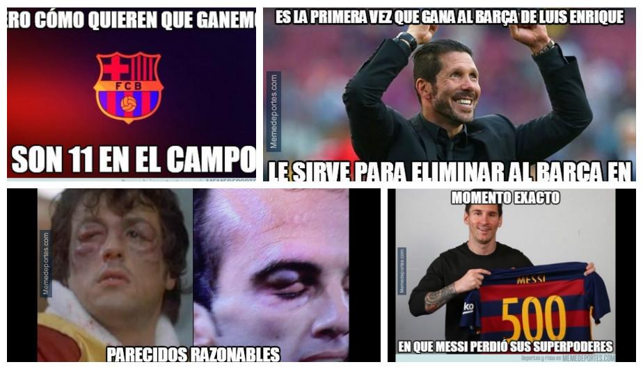 Atlético Madrid Vs Barcelona Mira Los Mejores Memes Del Partido Foto 1 De 12 Depor Com