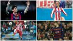 Barcelona vs Atlético de Madrid: los mejores duelos del partido - Noticias de javier manzanares