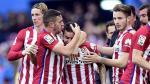 Atlético de Madrid venció 1-0 Málaga y se pone como líder de la Liga BBVA - Noticias de lucas castro
